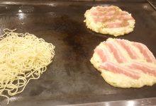 【3.11】お好み焼き、ハンバーグ